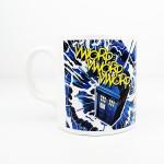 Doctor Who Tardis Kupa Bardak