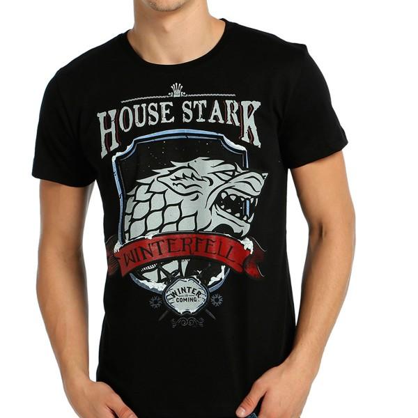 Game Of Thrones - Stark Siyah Tişört