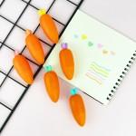 Havuç Tasarım 6'lı Fosforlu Kalem Seti