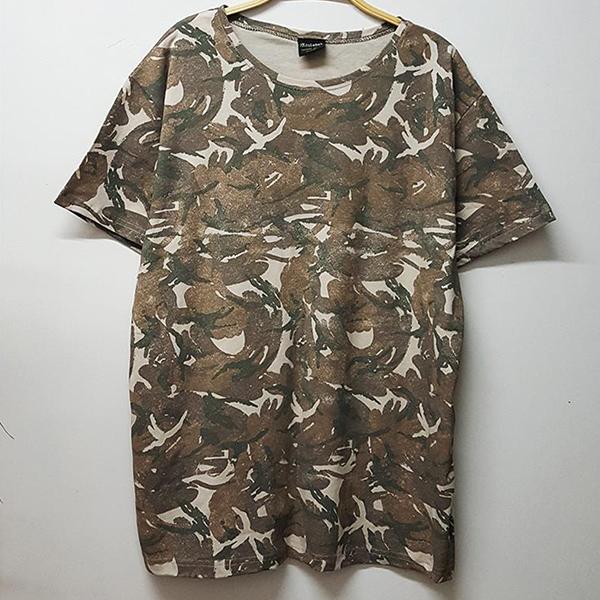 Kamuflaj Desenli Tişört