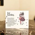 Kız Kardeş Tasarımlı Fotoğraf Albümü