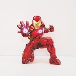 Marvel - İronman Ahşap Led Lamba