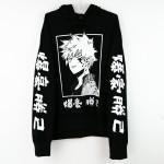 My Hero Academia Bakugou Kapşonlu Sweatshirt