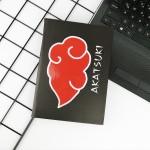 Naruto Shippuuden - Akatsuki Bulut Logo Defter
