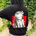 Nezuko Fermuarlı Sweatshirt