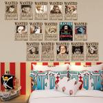 One Piece Wanted Duvar Kağıdı Seti 15'li