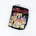 Sailor Moon Siyah Kısa Cüzdan