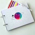 Satürn Tasarımlı Fotoğraf Albümü