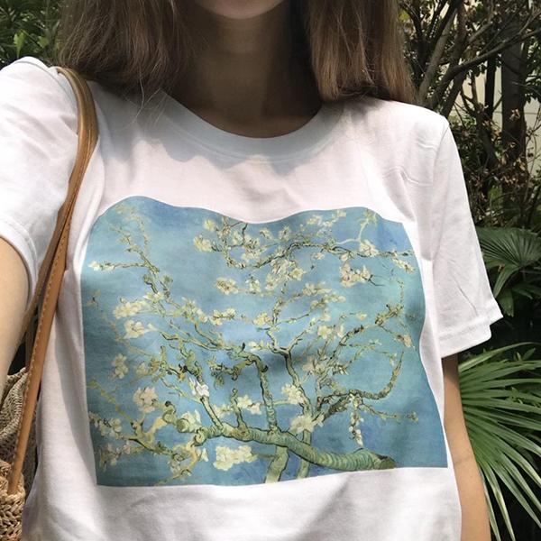 Van Gogh - Çiçek Açan Badem Ağacı