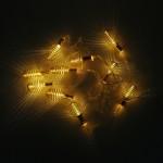 Yuvarlak Metal Yay Led Işık